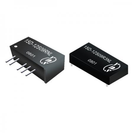 ตัวแปลง SIP DC-DC แบบแยก 1W 1KV (15D) - ตัวแปลง SIP DC-DC แบบแยก 1W 1KV (15D ซีรี่ส์)