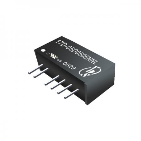 1W 1KV Isolation SIP DC-DC Converters(17D) - 1W 1KV Isolation SIP DC-DC Converters(17D Series)
