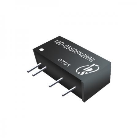 2W 3KV Isolation SIP DC-DC Converters(12D-2W) - 2W 3KV Isolation SIP DC-DC Converters(12D-2W Series)