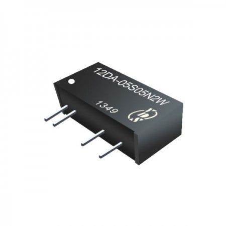 2W 3KV Isolation SIP DC-DC Converter - 2W 3KV Isolation SIP DC-DC Converter(12DA-2W Series)