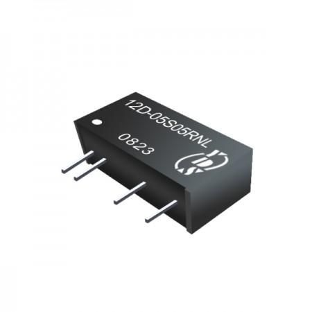 ตัวแปลง SIP DC-DC แบบแยก 1W 3KV (12D-R) - ตัวแปลง SIP DC-DC แบบแยก 1W 3KV (ซีรี่ส์ 12D-R)
