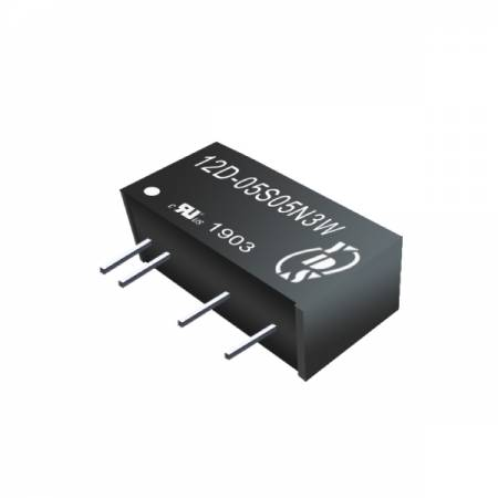 3W 3KV Isolation SIP DC-DC Converter - 3W 3KV Isolation SIP DC-DC Converter(12D-3W Series)