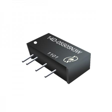 3W 1KV Isolation SIP DC-DC Converter - 3W 1KV Isolation SIP DC-DC Converter(14D-3W Series)