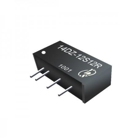1W 3KV Isolation 2:1 SIP DC-DC Converter - 1W 3KV Isolation 2:1 SIP DC-DC Converter(14DZ Series)
