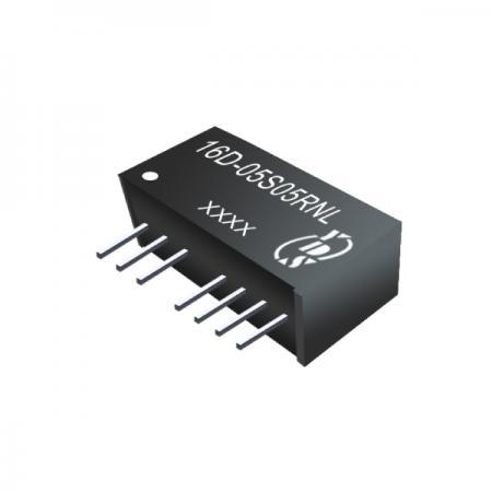 1W 1KV การแยก 2: 1 ตัวแปลง SIP DC-DC (16D- เดี่ยว) - 1W 1KV การแยก 2:1 SIP DC-DC Converters (16D-Single Series)