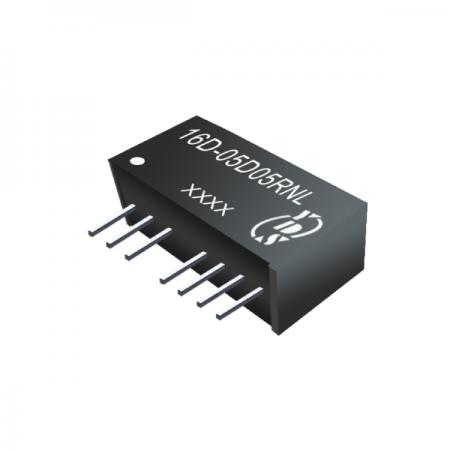 1W 1KV การแยก 2: 1 ตัวแปลง SIP DC-DC (16D-Dual) - 1W 1KV การแยก 2: 1 ตัวแปลง SIP DC-DC (ซีรีย์ 16D-Dual)