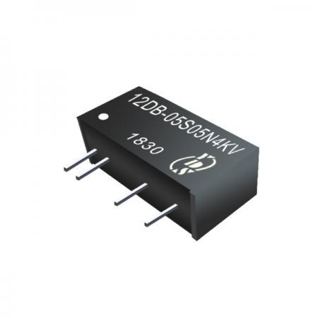 1W 4KV 절연 SIP DC-DC 컨버터(12DB-4KV) - 1W 4KV 절연 SIP 연속 보호 DC-DC 컨버터(12DB-4KV 시리즈)