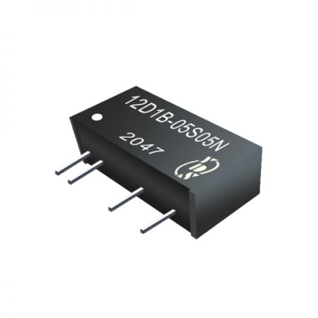 1W 6.4KV Isolation SIP Continuous Protection DC-DC Converters(12D1B) - 1W 6.4KV Isolation SIP Continuous Protection DC-DC Converters(12D1B Series)