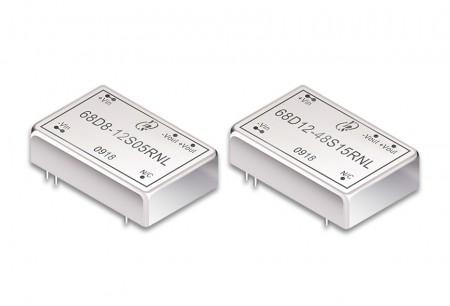 """डीआईपी पैकेज 1.25 """"x 0.8"""" 3 ~ 12W डीसी-डीसी कन्वर्टर्स - 1.25 """"x 0.8"""" डीआईपी पैकेज डीसी-डीसी कनवर्टर 3 ~ 12W"""