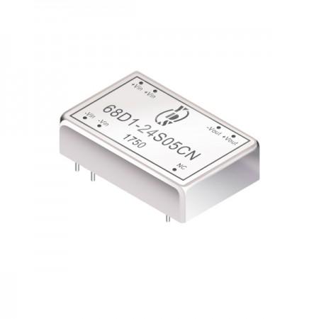 3W 1.5KV İzolasyon 2: 1 DIP DC-DC Dönüştürücüler (68D1) - 3W 1.5KV İzolasyon 2: 1 DIP DC-DC Dönüştürücüler (68D1 Serisi)