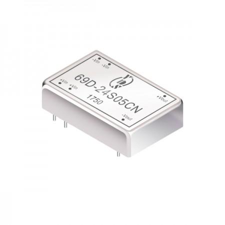 3W 1.5KV İzolasyon 4: 1 DIP DC-DC Dönüştürücüler (69D) - 3W 1.5KV İzolasyon 4: 1 DIP DC-DC Dönüştürücüler (69D Serisi)