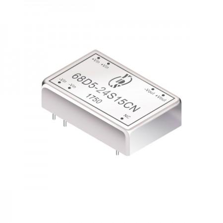 5~6W 1.5KV Isolation 2:1 DIP DC-DC Converters(68D5) - 5~6W 1.5KV Isolation 2:1 DIP DC-DC Converters(68D5 Series)