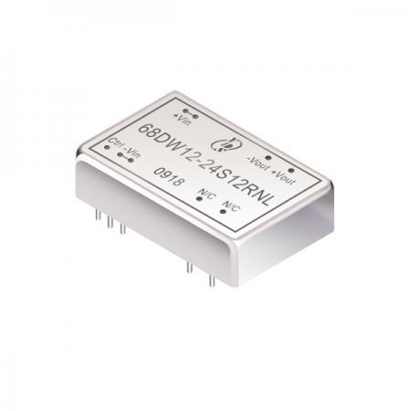 12W 1.5KV Isolation 4:1 DIP DC-DC Converters(68DW12) - 12W 1.5KV Isolation 4:1 DIP DC-DC Converters(68DW12 Series)