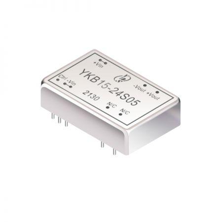 15W 1.6KV Isolation 4:1 DIP DC-DC Converters(YKB15) - 15W 1.6KV Isolation 4:1 DIP DC-DC Converters(YKB15 Series)