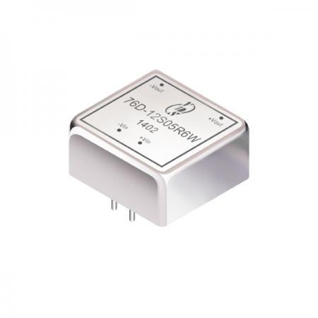 6W 1.5KV 절연 2 : 1 DIP DC-DC 컨버터 (76D-6W) - 6W 1.5KV 절연 2 : 1 DIP DC-DC 컨버터 (76D-6W 시리즈)