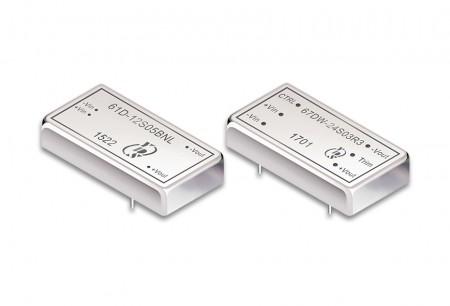 """डीआईपी पैकेज 2 """"x 1"""" 5 ~ 60W डीसी-डीसी कन्वर्टर्स - 2 """"x 1"""" डीआईपी पैकेज डीसी-डीसी कनवर्टर 5 ~ 60W"""