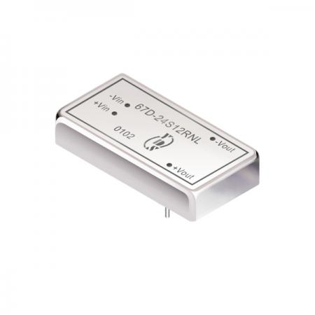 15W 1.5KV Isolation 2:1 DIP DC-DC Converter(67D) - 15W 1.5KV Isolation 2:1 DIP DC-DC Converter(67D Series)