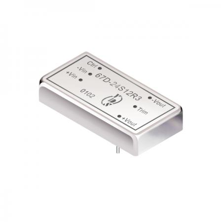 15W 1.5KV Isolation 2:1 DIP DC-DC Converter(67D-R3) - 15W 1.5KV Isolation 2:1 DIP DC-DC Converter(67D-R3 Series)