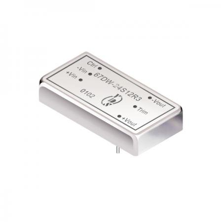 15W 1.5KV Isolation 4:1 DIP DC-DC Converter(67DW-R3) - 15W 1.5KV Isolation 4:1 DIP DC-DC Converter(67DW-R3 Series)