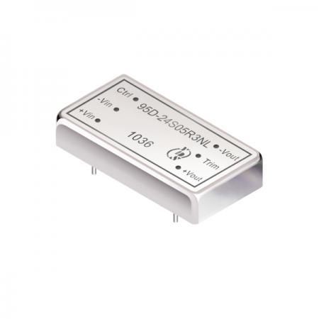 20瓦1.5KV隔离电压2:1宽输入DIP 直流对直流电源转换器(95D-R3) - 20瓦1.5KV隔离电压2:1宽输入直流对直流电源转换器