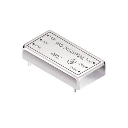 30瓦1.6KV隔离电压2:1宽输入DIP 直流对直流电源转换器(96D-R5) - 30瓦1.6KV隔离电压2:1宽输入直流对直流电源转换器