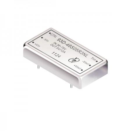 60W 1.6KV Isolation 2:1 DIP DC-DC Converters(93D-R3) - 60W 1.6KV Isolation 2:1 DIP DC-DC Converters(93D-R3 Series)