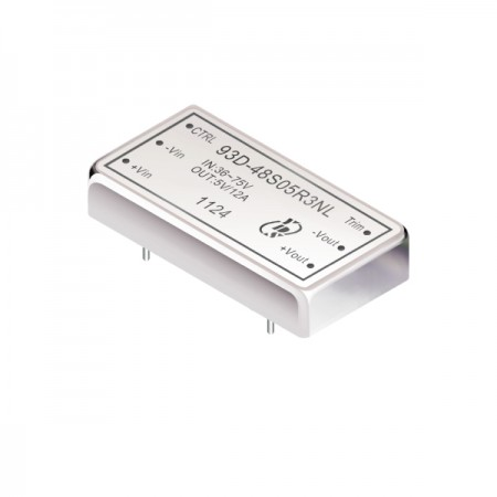 60W 1.6KV 절연 4:1 DIP DC-DC 컨버터(YNB60) - 60W 1.6KV 절연 2:1 DIP DC-DC 컨버터(93D-R3 시리즈)