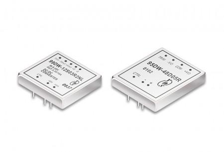 """DIP-пакет 2 """"х 1,6"""" і 2 """"х 2"""" 15 ~ 60 Вт перетворювачі постійного струму - 2 """"x 1,6"""" & 2 """"x 2"""" DIP-пакет DC-DC перетворювач 15 ~ 60 Вт"""
