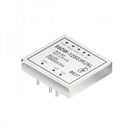 Conversores DC-DC DIP de 4: 1 com isolamento de 40W 1,5KV (99DW-R2) - Conversores DC-DC DIP de 4: 1 com isolamento de 40W 1,5KV (série 99DW-R2)
