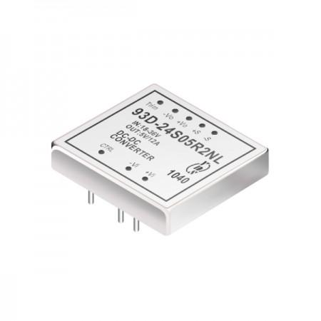 60W 1.5KV Isolamento Conversores DIP DC-DC 2: 1 (93D-R2) - Conversores DC-DC DIP 2: 1 com isolamento de 60W 1,5KV (série 93D-R2)