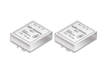 "DIP Package 3"" x 2.6"" 60W DC-DC Converters - 3"" x 2.6"" DIP Package DC-DC Converter 60W"