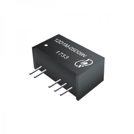 1W 6KV Isolation SIP DC-DC Converters (For Medical) - 1W 6KV Isolation SIP DC-DC Converters(12D1M Series)