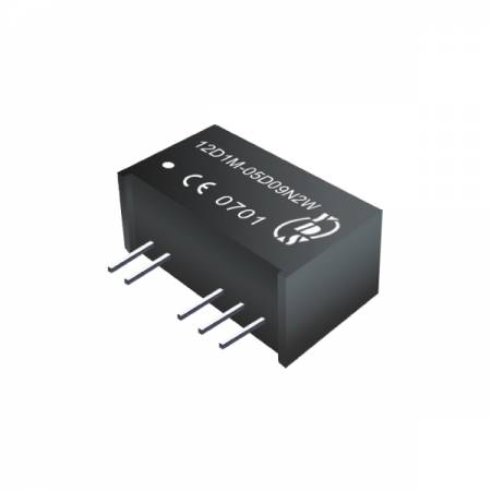 Convertisseurs CC-CC SIP d'isolement 2W 6KV (pour le médical) - Convertisseurs CC-CC SIP d'isolement 2W 6KV (série 12D1M-2W)