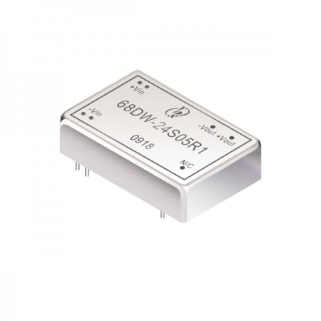 10W 1.6KV Isolation 4:1 DIL DC-DC Converter (For Railway) - 10W 1.6KV Isolation 4:1 DIL DC-DC Converter(68DW-R1 Series)