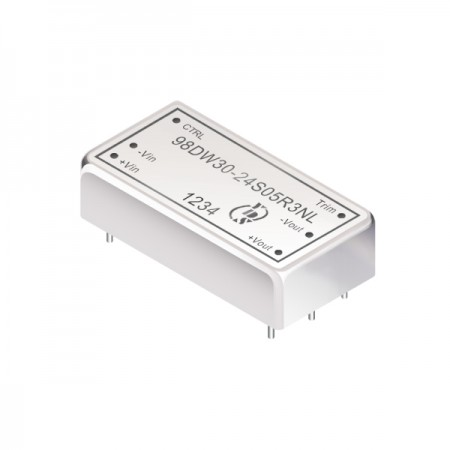 30W 3KV Isolation 4:1 DIL DC-DC Converters (For Railway) - 30W 3KV Isolation 4:1 DIL DC-DC Converters(98DW30-R3 Series)