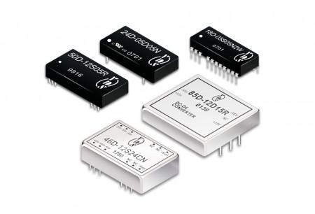 अन्य पैकेज डीसी-डीसी कन्वर्टर्स - अन्य पैकेज के साथ युआन डीन के डीसी-डीसी उत्पाद