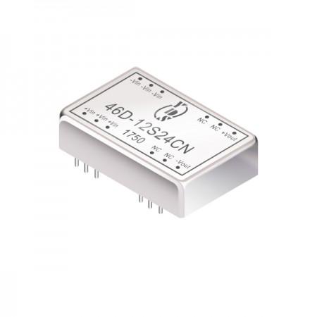 3W 1.5KV अलगाव डुबकी DC-DC कन्वर्टर्स (46D) - 3W 1.5KV अलगाव डुबकी DC-DC कन्वर्टर्स (46D श्रृंखला)
