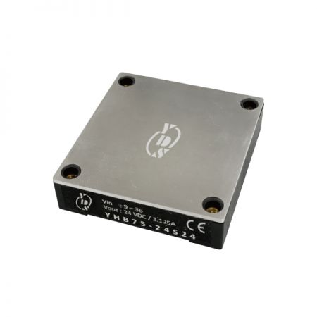 75W 2.25KV Isolation 4:1 Half-Brick DC-DC Converters(YHB75) - 75W 2.25KV Isolation 4:1 Half-Brick DC-DC Converters(YHB75)