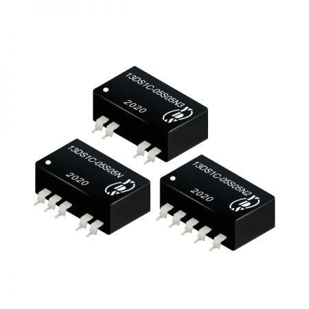 경제적인 1W 1.5KVDC 및 3KVDC 절연 DC-DC 컨버터(13DS1C)