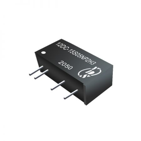 Economical 2W 1.5KVDC~6KVDC isolation SIP DC-DC Converters(12DC-2W)