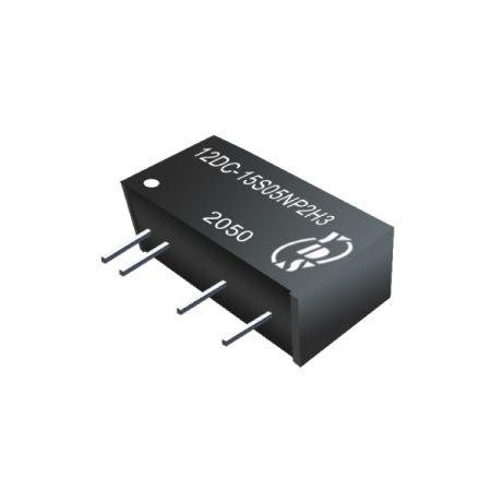 경제적인 2W 1.5KVDC~6KVDC 절연 SIP DC-DC 컨버터(12DC-2W)