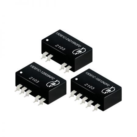 경제적인 2W 1.5KVDC 및 3KVDC 절연 DC-DC 컨버터(13DS1C-2W)