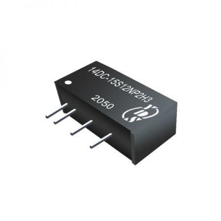 Economical 2W 1.5KVDC & 3KVDC isolation DC-DC Converters(14DC-2W)