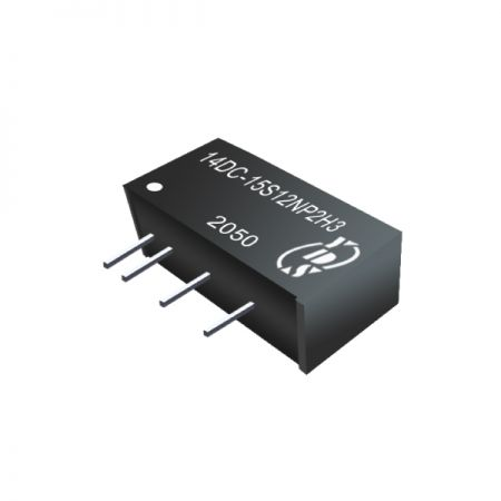 Economical 2W 1.5KVDC & 3KVDC isolation DC-DC Converters(14DC-2W) - Economical 2W 1.5KVDC & 3KVDC isolation DC-DC Converters(14DC-2W Series)