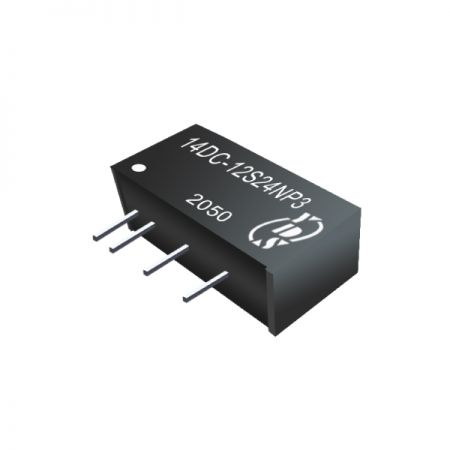 Economical 3W 1.5KVDC & 3KVDC isolation DC-DC Converters(14DC-3W)