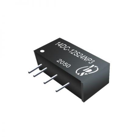 경제적 인 3W 1.5KVDC 및 3KVDC 절연 DC-DC 컨버터 (14DC-3W)