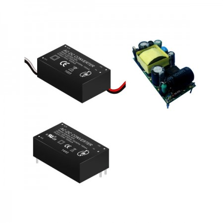 5W 3KVac 절연 조절 출력 AC-DC 컨버터(모듈) - 5W 3KVac 절연 AC-DC 컨버터(모듈)(GA005/GB005/GC005 시리즈)