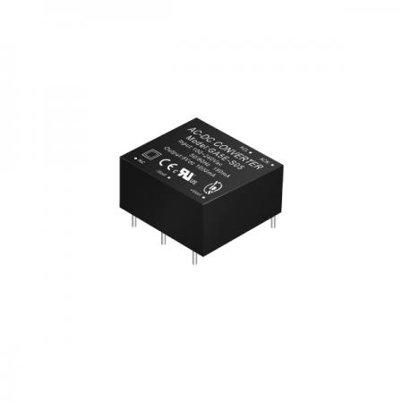 1~5W 3KVac Isolation Regulated Output AC-DC Converters (Module) - 1~5W 3KVac Isolation AC-DC Converters (Module)(GA5E Series)