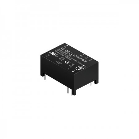 5 ~ 6W 3KVac Isolation Regulated Output AC-DC Converters (Module) - 5 ~ 6W 3KVac Isolation AC-DC Converters (Module)(GA5A Series)