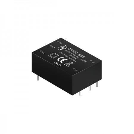 7W 3KVac Isolation Regulated Output AC-DC Converters (Module) - 7W 3KVac Isolation AC-DC Converters (Module)(GA007 Series)